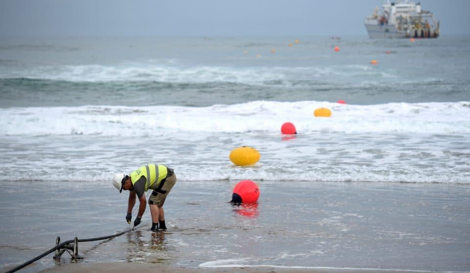 Google conecta Sopela con Reino Unido y Estados Unidos mediante un cable submarino