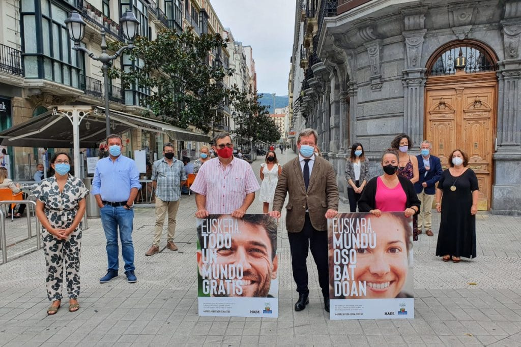 El Gobierno Vasco destina 39 millones de euros a la financiación de euskaltegis