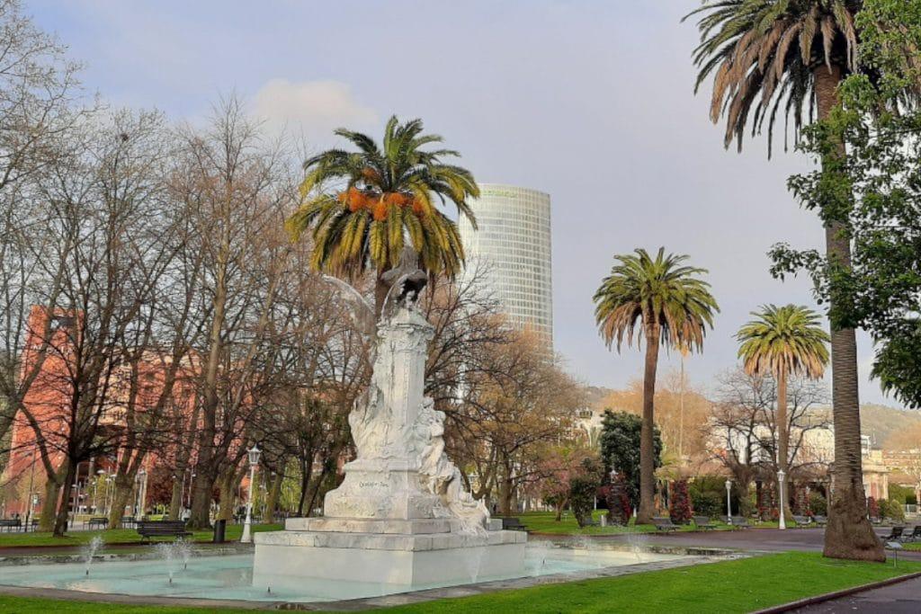 El Parque de Doña Casilda tendrá un espacio dedicado a las víctimas del covid