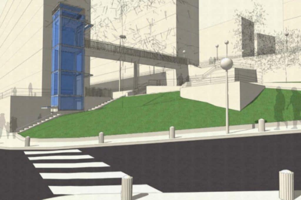 Así serán los ascensores que mejorarán la conexión en Otxarkoaga
