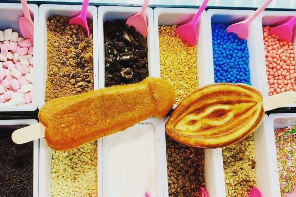 La Pitxeria: ya están en Bilbao los famosos gofres con forma de genitales
