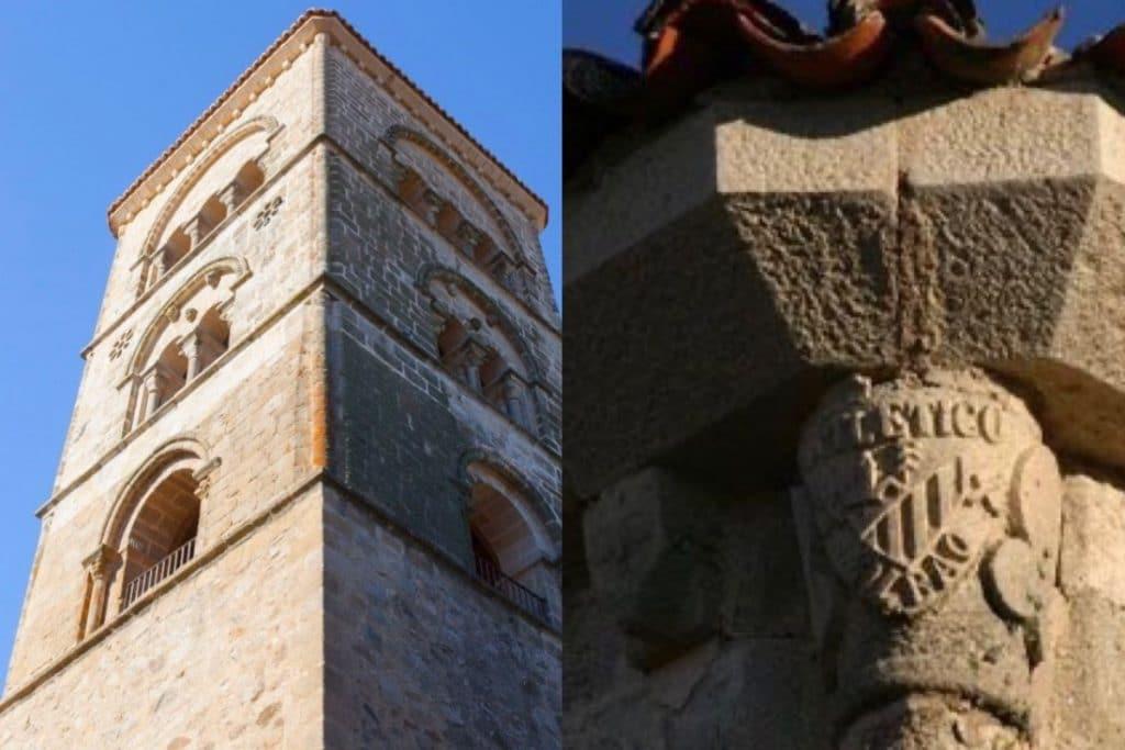 El Athletic traspasa fronteras: un escudo se cuela en una iglesia extremeña