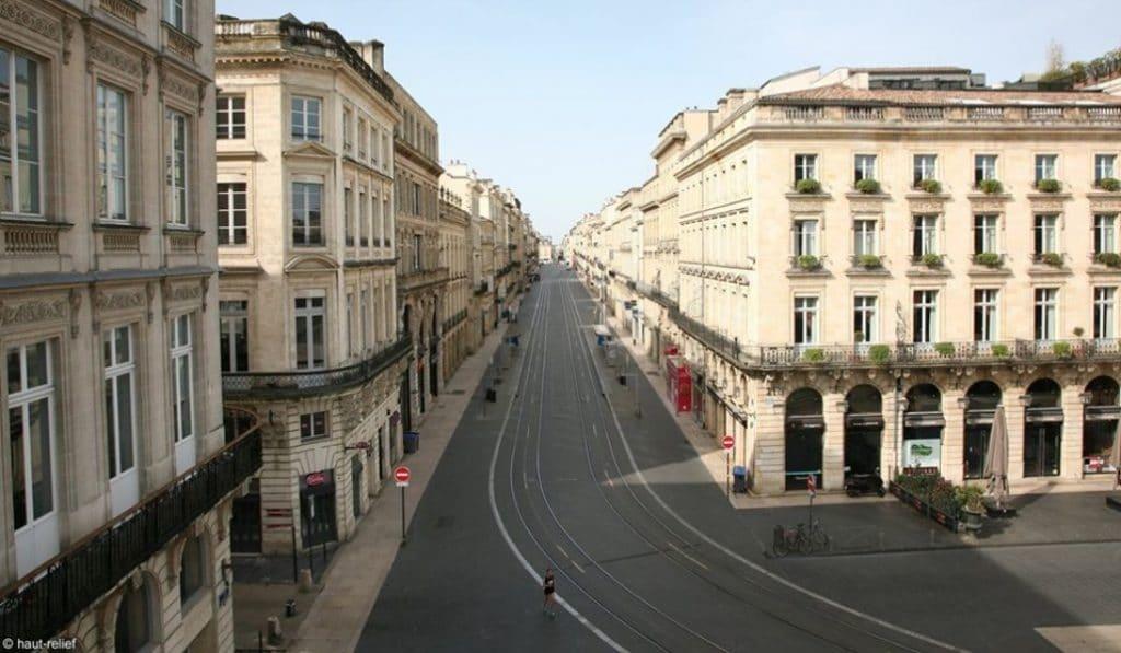 Confinement : découvrez les rues vides de Bordeaux en images
