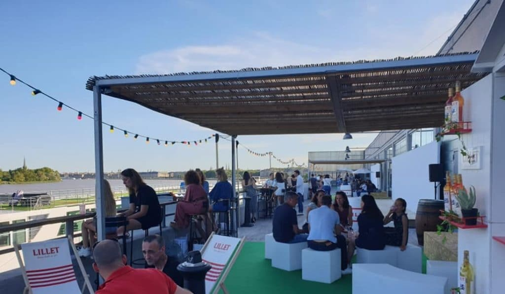 Terrasse 14 : le nouveau bar éphémère du Quai des Chartrons !