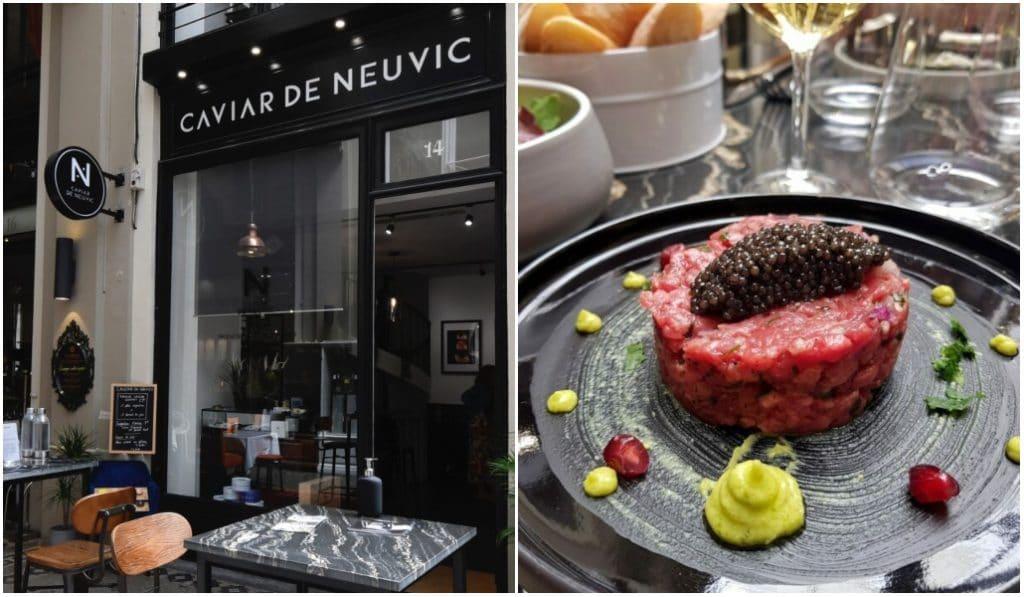 Comptoir Caviar de Neuvic : le premier restaurant de caviar de Bordeaux !