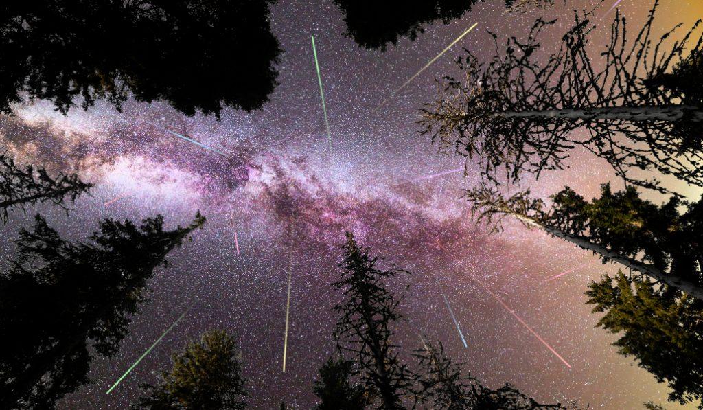 Une pluie d'étoiles filantes prévue cette semaine !