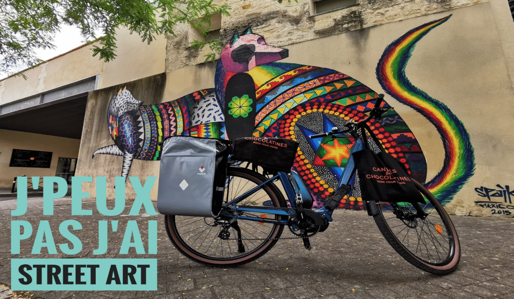 Street art à vélo