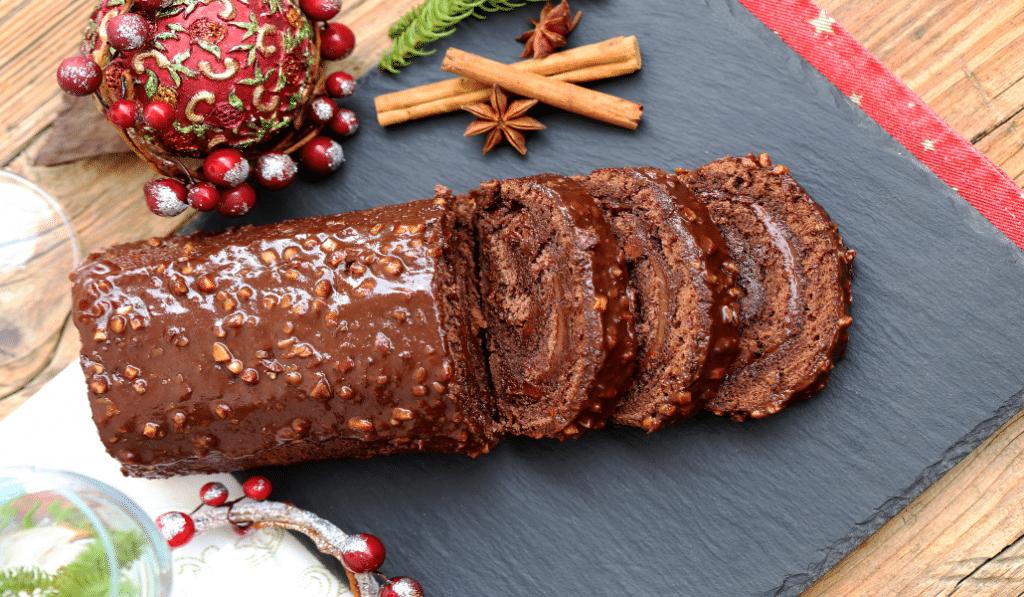 Recette : le biscuit roulé chocolat-noisettes de Cyril Lignac !