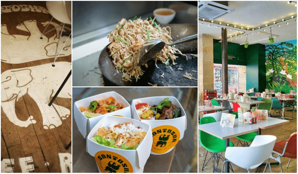 La street-food asiatique de Santosha débarque sur la rive-droite !