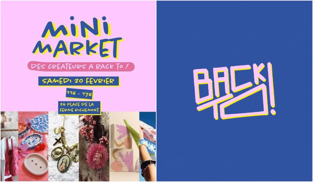 Back To lance son Mini Market de créateurs !
