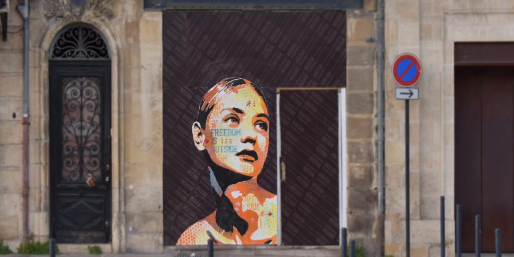 Street art : ces oeuvres qui mettent la femme à l'honneur à Bordeaux !