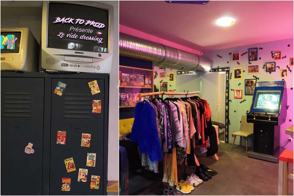 Ce week-end, Back To fait son vide-dressing !