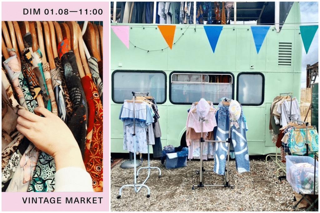 Ce dimanche, un Vintage market investit les Bassins à Flot !