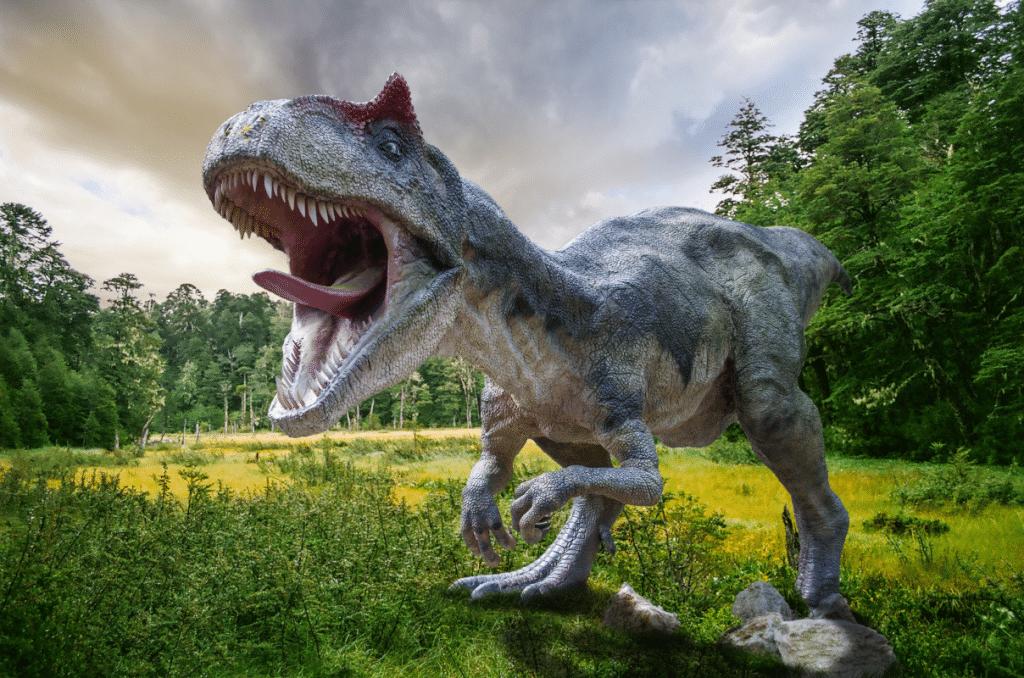 Des dinosaures géants envahissent l'Hippodrome du Bouscat pour l'expo : «Le Règne des Dinosaures» !
