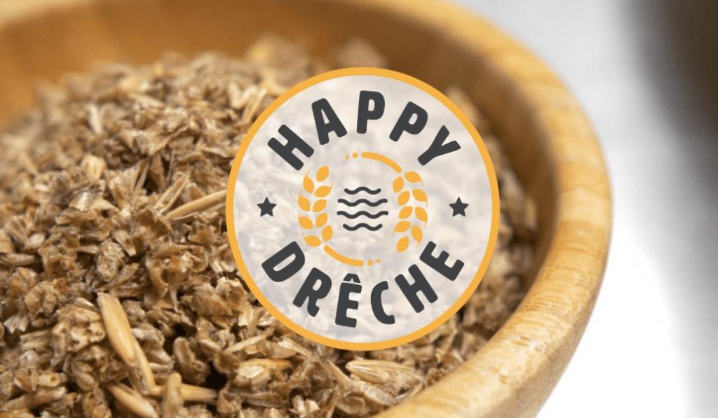 Happy Drêche, ces biscuits apéros faits à partir de résidus de brassage de bière !