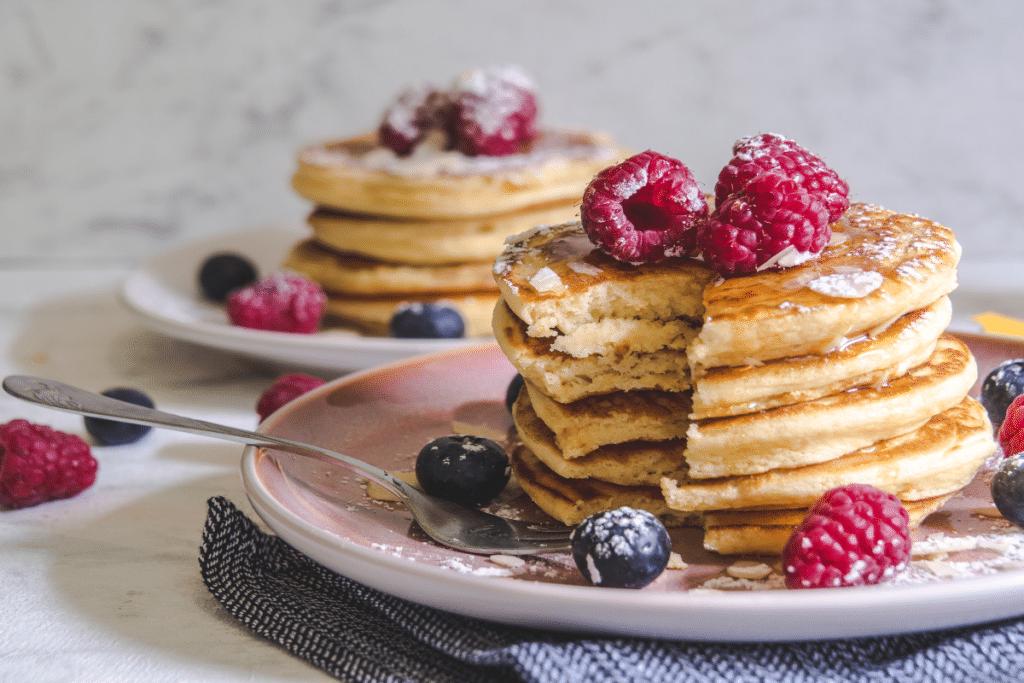 La collation : la «pancakerie» qui régale la Belle Endormie !