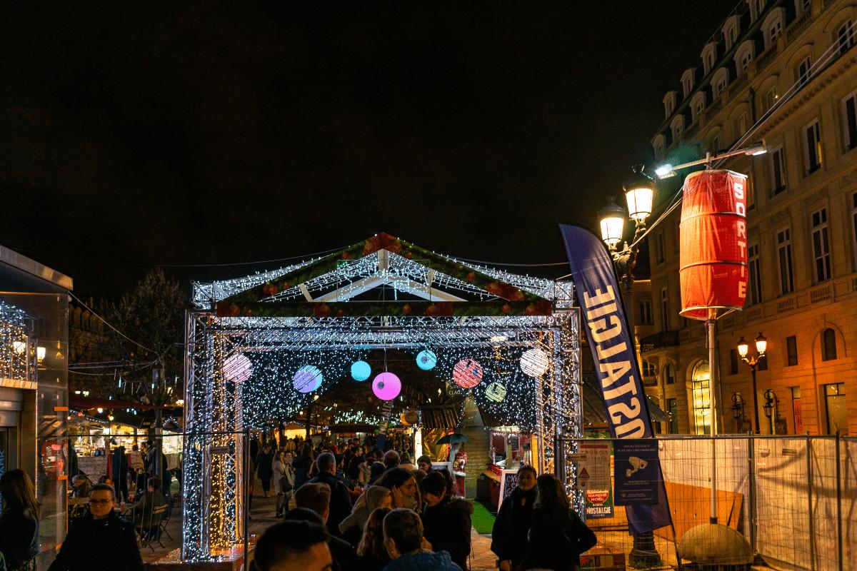 Marché de Noël à Bordeaux