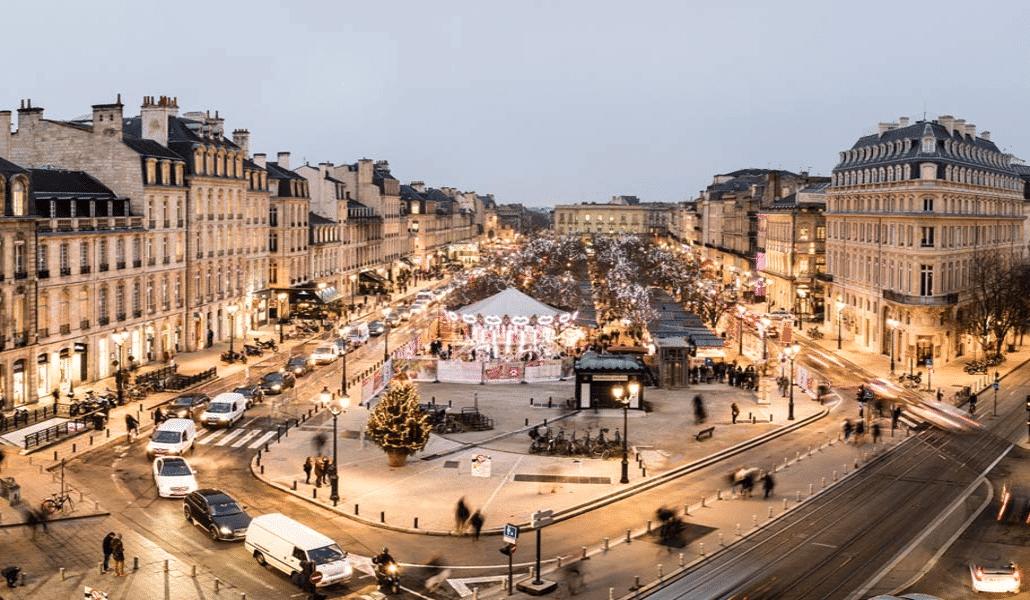 Marche de Noël 2019 sur la Place Tourny