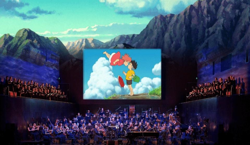 Un ciné-concert symphonique magique dédié aux films de Miyazaki débarque à l'Arkea Arena !