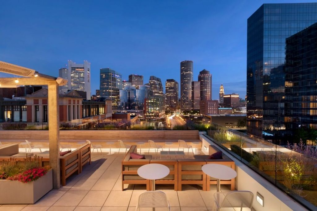 Boston Rooftops