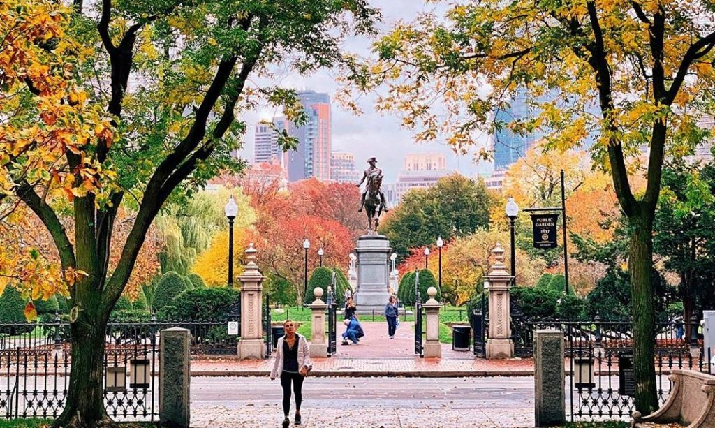 Places To See Autum Leaves Boston