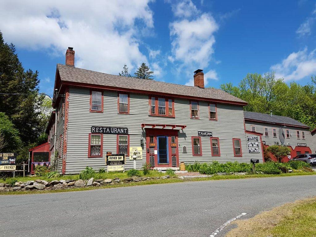 New Boston Inn Haunted getaway