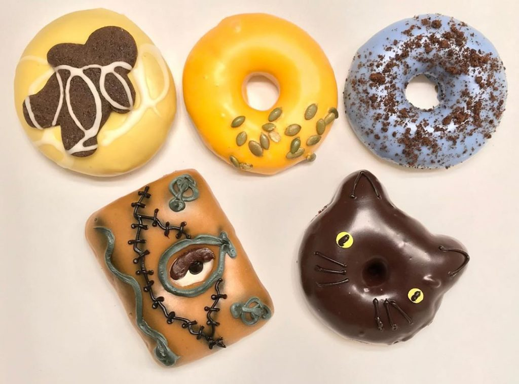 This Spooktacular Pop-Up Shop Is Selling Halloween-Themed Donuts!