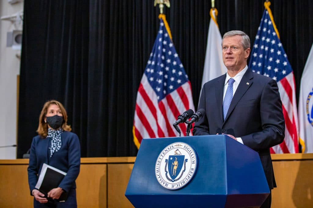Governor Charlie Baker's New Executive Order Goes Into Effect Today