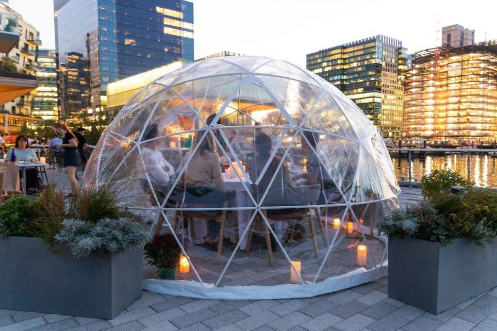 Keep Warm This Winter & Dine Inside One Of These Enchanting Igloos In Seaport