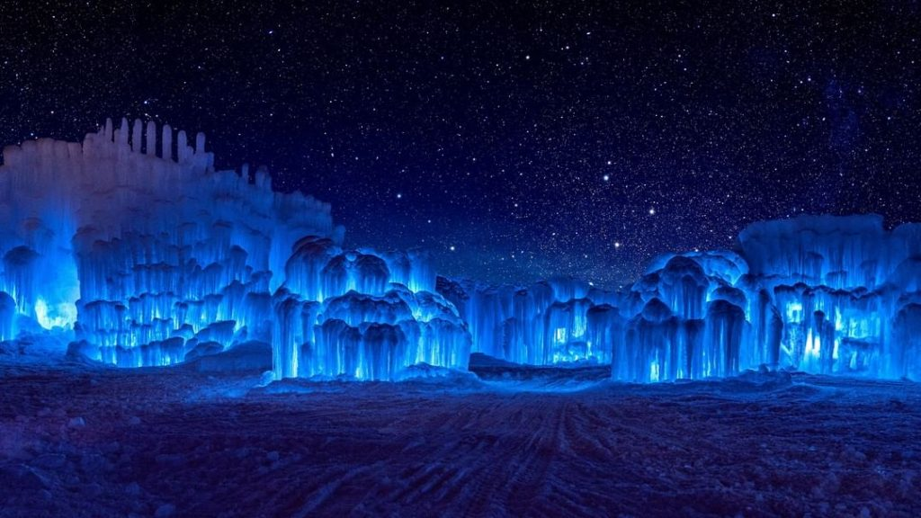 Escape To A Winter Fairytale Land Inside One Of These Magical Ice Castles