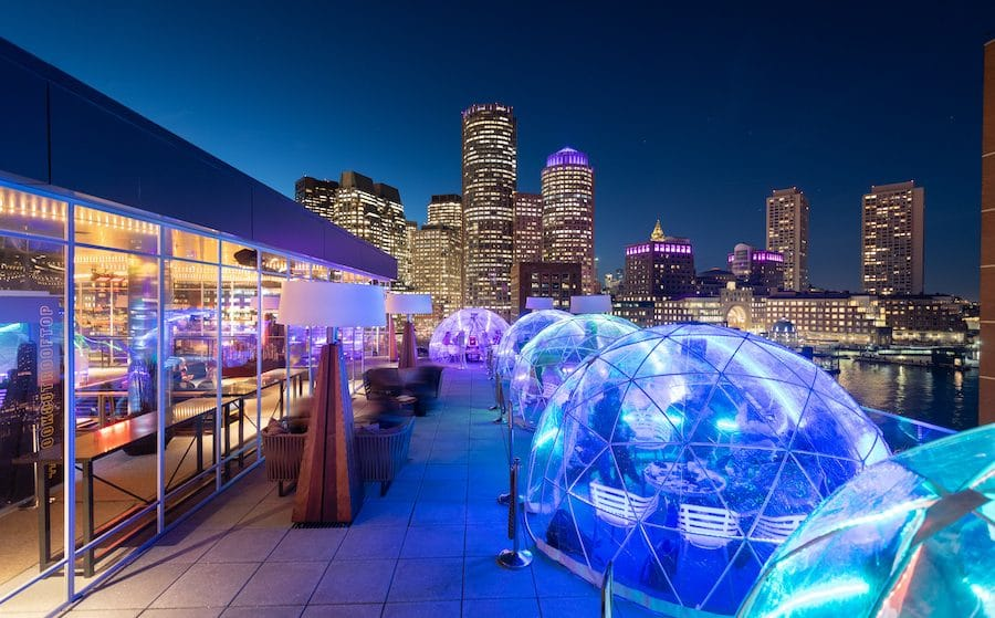 Igloos, Greenhouses & Fire Pits: 8 Cozy Winter Spots For Outdoor Dining In Boston