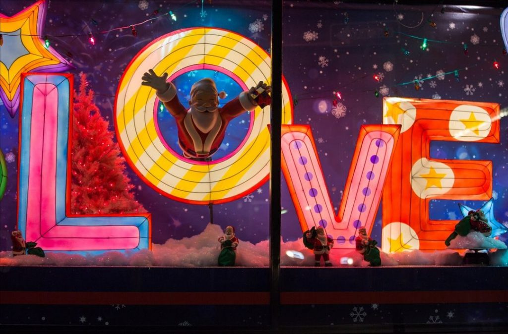 Downtown Crossing Has Transformed Its Windows For A Magical Holiday Display