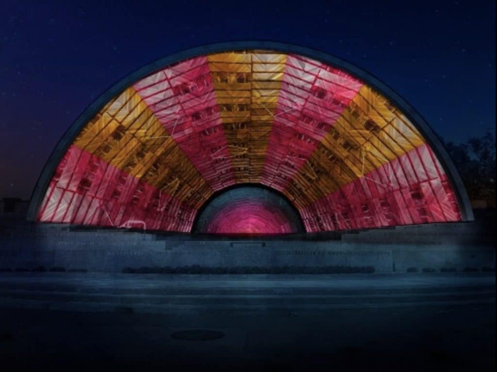 A Dazzling New Light Show Is Coming To Hatch Memorial Shell Today!