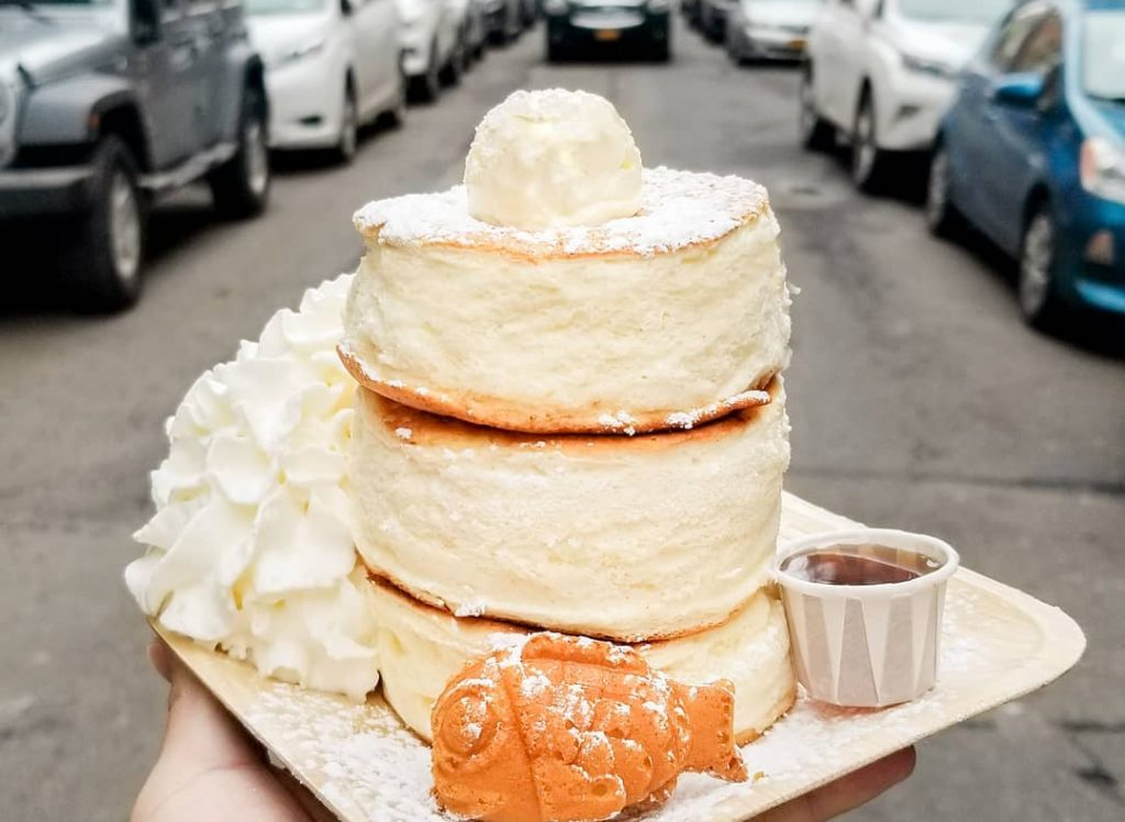 This Seaport Shop Is Now Serving Fluffy Japanese-Style Soufflé Pancakes