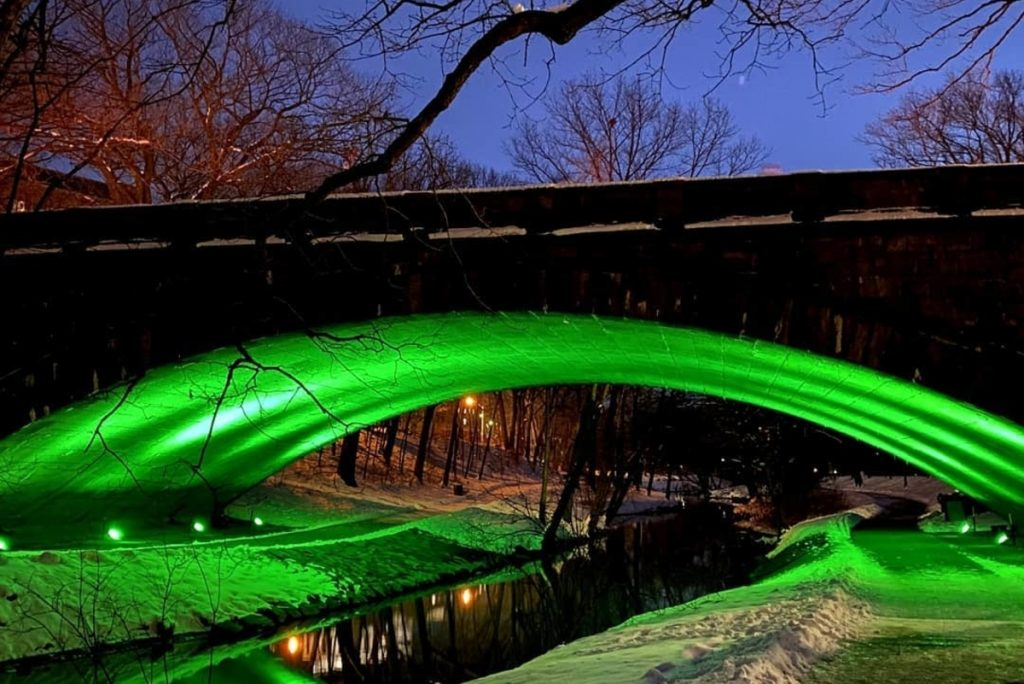 You'll Now Be Able To Bask In The Beautiful Green Glow Of The Emerald Necklace All Through March