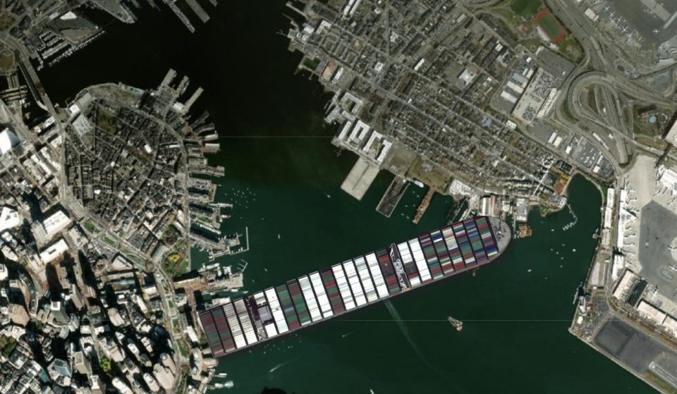 This Awesome App Will Let You Compare The Ever Given Ship To Famous Boston Landmarks