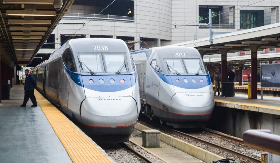 A New High Velocity Train Could Take Commuters From Boston To NYC In Under Two Hours