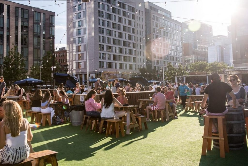 7 Charming Beer Gardens For A Sunny Fall Day In Boston