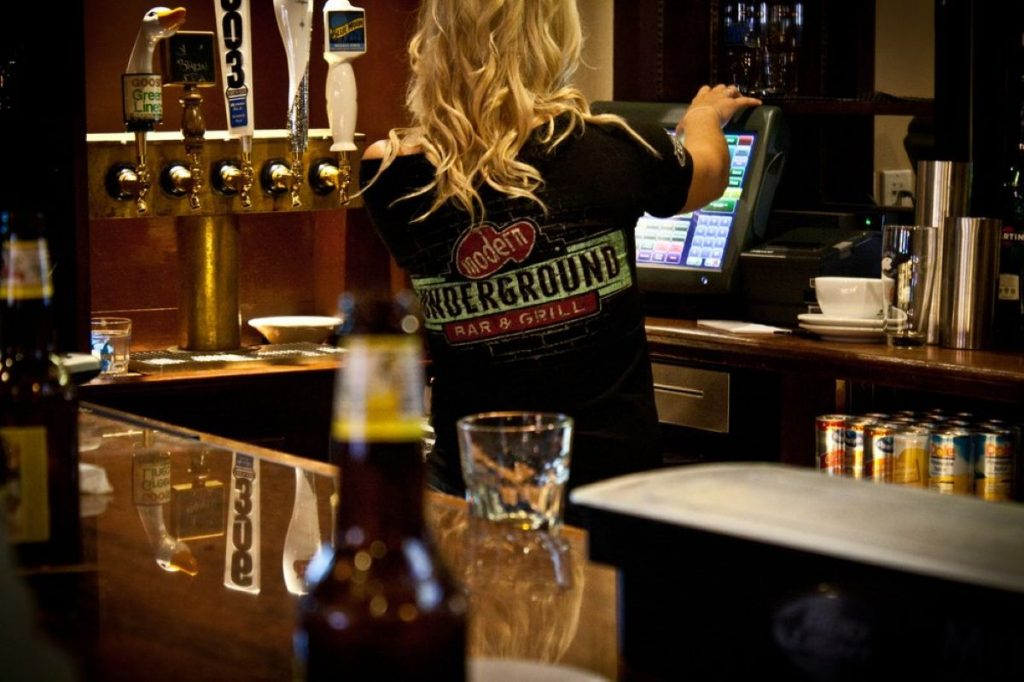 Modern Underground Bar Boston
