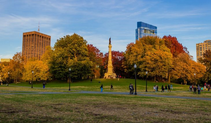6 Lush Parks In Boston For Relaxing in Nature