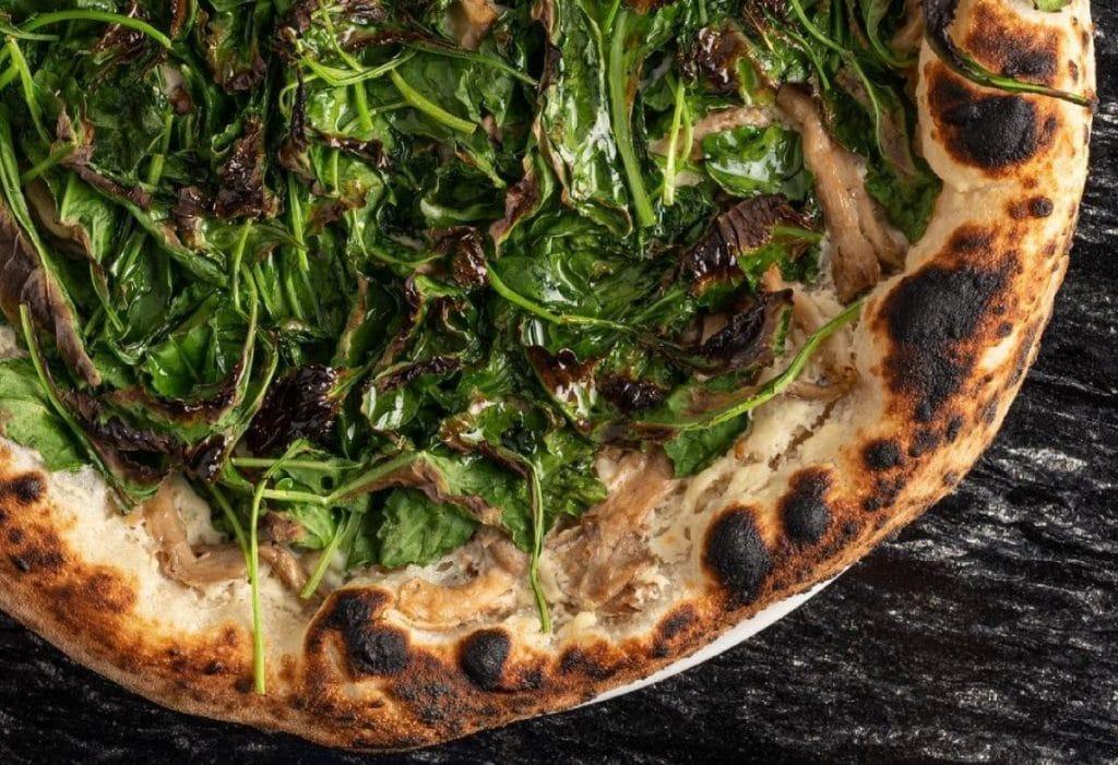 Vegan Pizza Boston: Double Zero Pizza on Newbury Street
