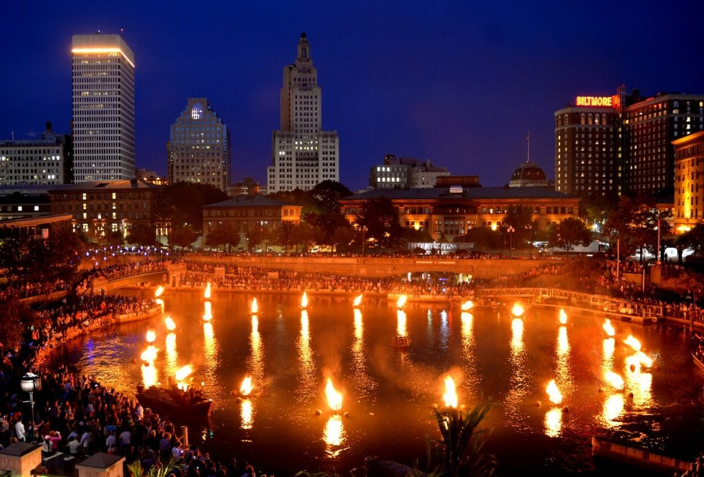 Don't Miss The First WaterFire Lighting In Providence This Weekend