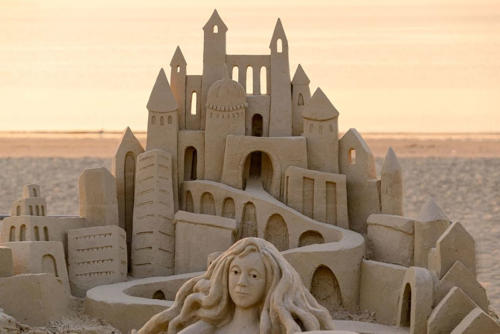 The Revere Beach Sand Sculpting Festival Is Back This Weekend