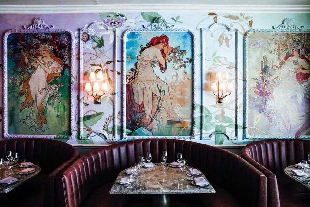 This Flirtatious French Seafood Restaurant Is Now Open In Seaport