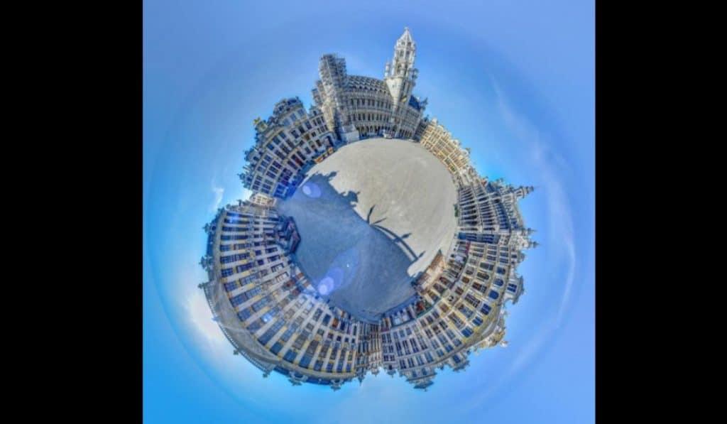 Confinement : découvrez les plus beaux lieux de Bruxelles à 360 degrés