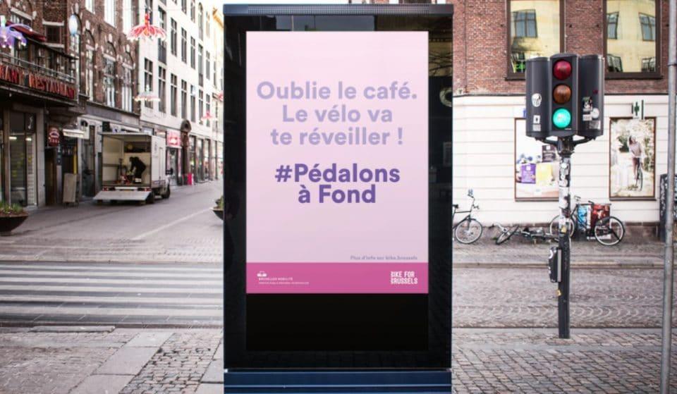 Déconfinement : Bruxelles Mobilité prône le vélo avec #PédalonsàFond
