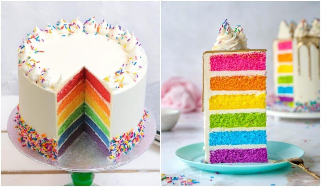 Pride Month : réalisez un rainbow cake à la maison !
