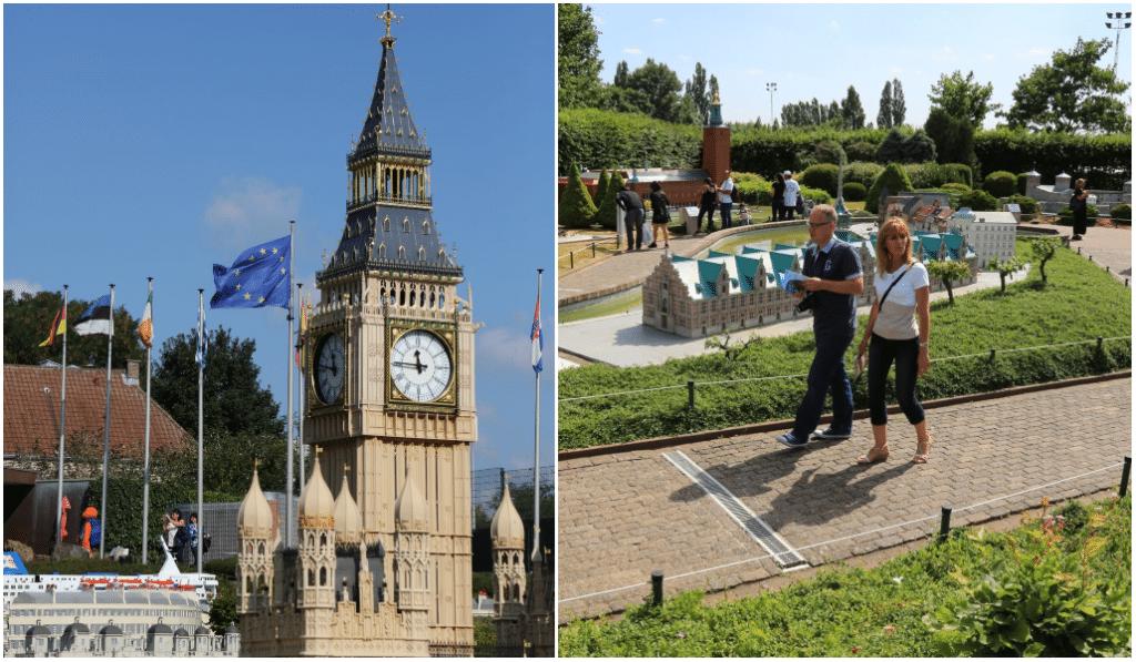 Mini Europe : une visite complète de l'Europe à taille miniature !