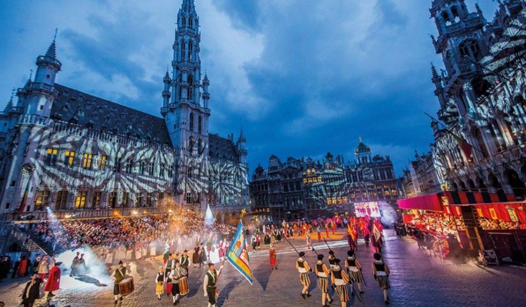 L'Ommegang de Bruxelles sera virtuel et projeté sur l'Hôtel de Ville en 2020 !