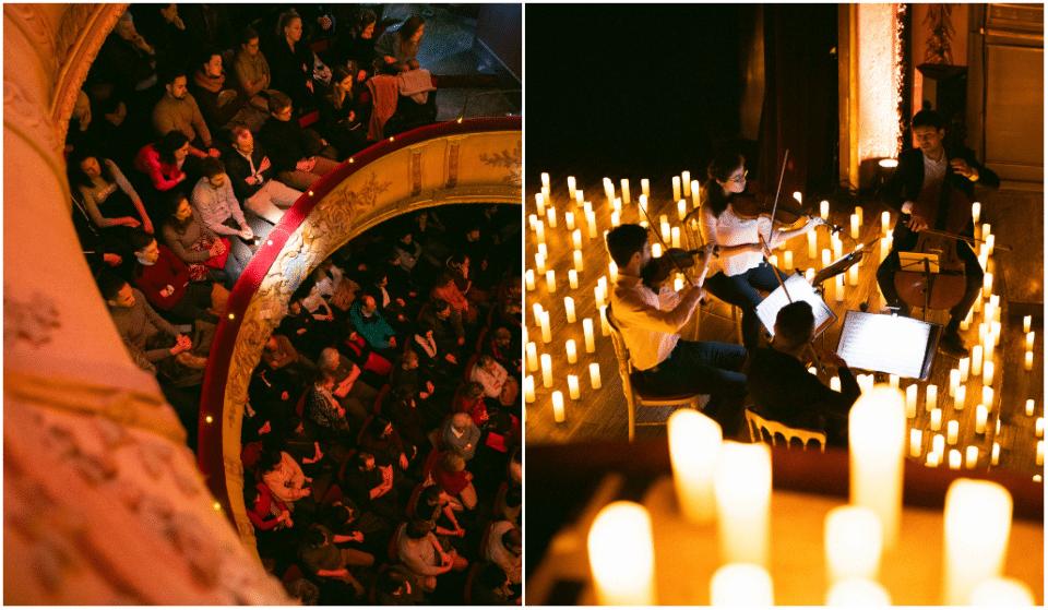 Les concerts à la bougie Candlelight font leur retour au Théâtre du Vaudeville !